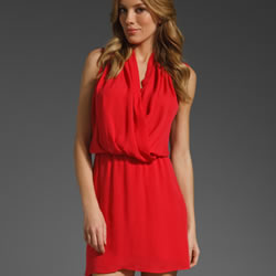 Red Parker dress for summer