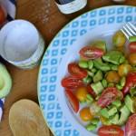 Real Girl's Kitchen: Truffle edamame salad
