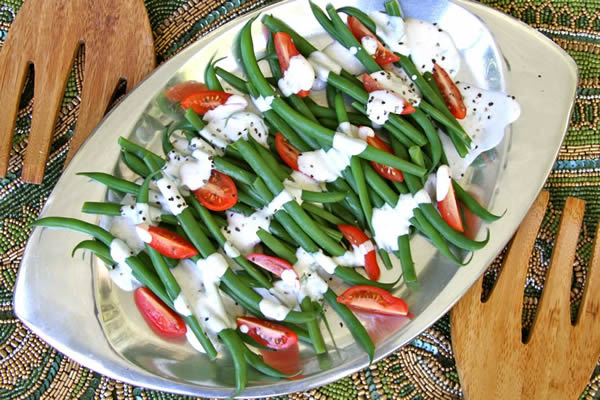 A tasty green beans recipe by Haylie Duff