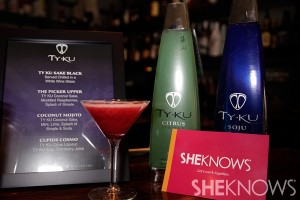 Ty Ku cocktails at Patti Stanger's birthday party
