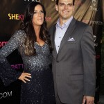 Patti Stanger arrives with new boyfriend at birthday party in LA