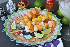 Beachside skewer recipe by Haylie Duff for PattiKnows