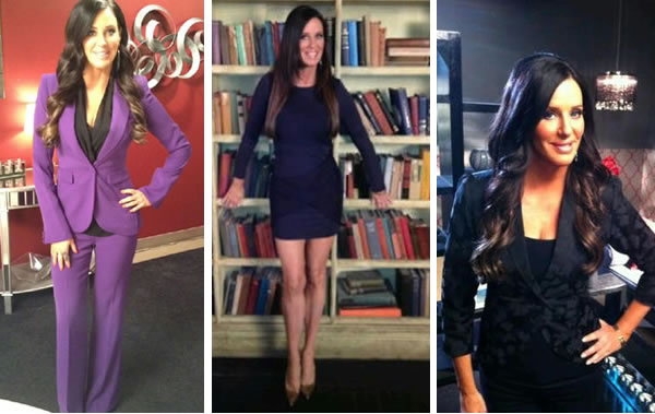 Patti Stanger on the set of Millionaire Matchmaker season 6