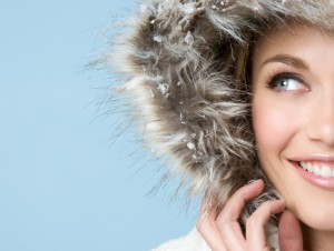 Woman in winter coat finds ways to keep healthy