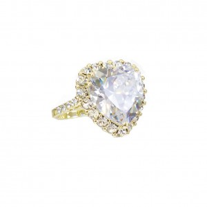 JeT'aime cocktail ring