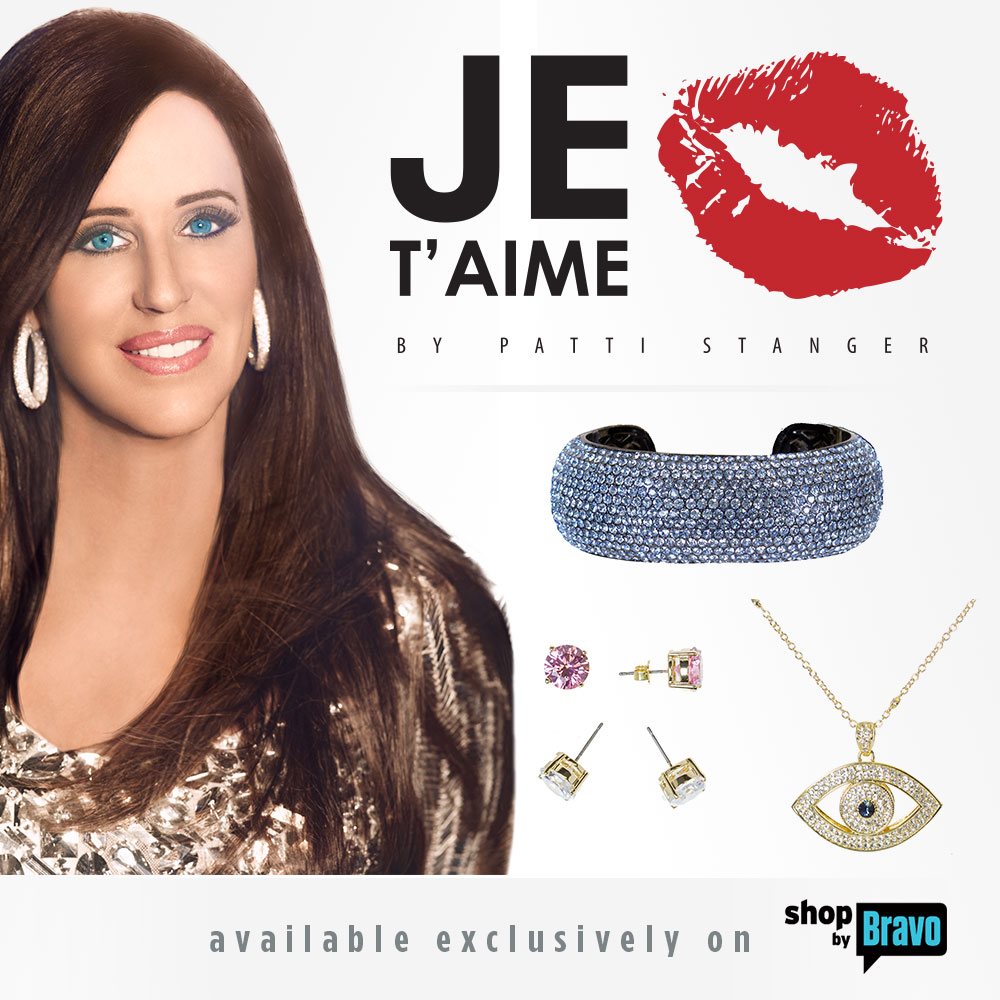 Je T'aime by Patti Stanger available exclusively on ShopbyBravo.com