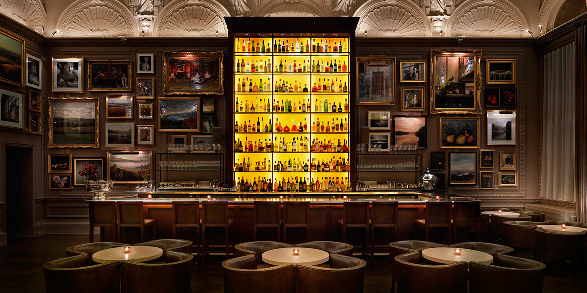 The Punch Room and Berners Tavern at Edition Hotel