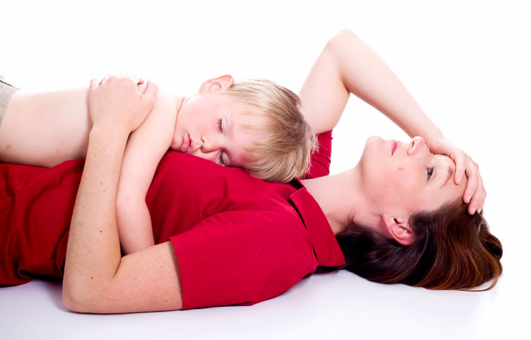 guidelines dating single moms sleeping over